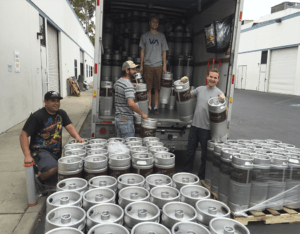 Bona Fide team deliver to your restaurant healthy safe keg Nitro coffee
