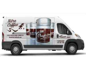 Bona Fide include deliver free nitro coffee keg to restaurant, coffee shop