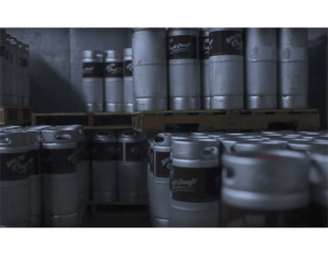 Bona Fide produce big amount of Nitro Coffee kegs to direct deliver to the customers.