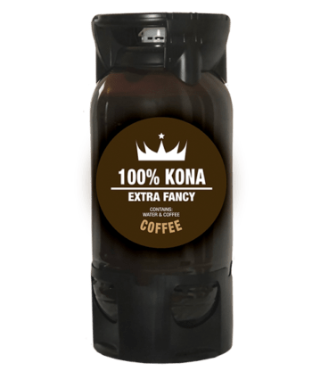 Kona Fancy Nitro Coffee by Bona Fide