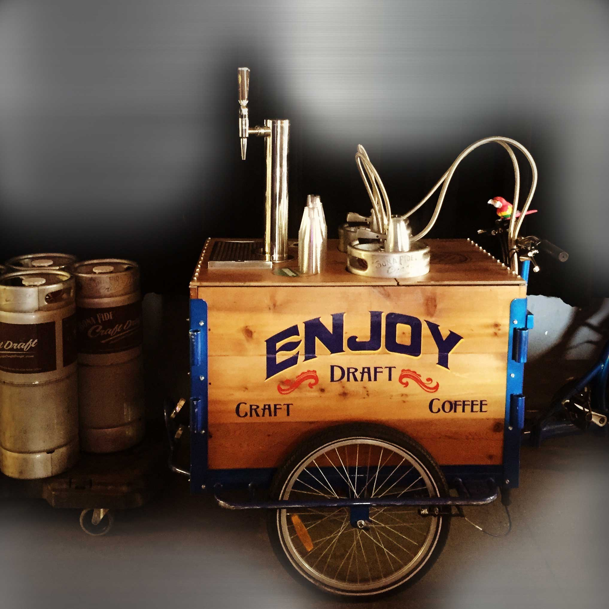 Bike from Bona Fide to serve nitro coffee on demand