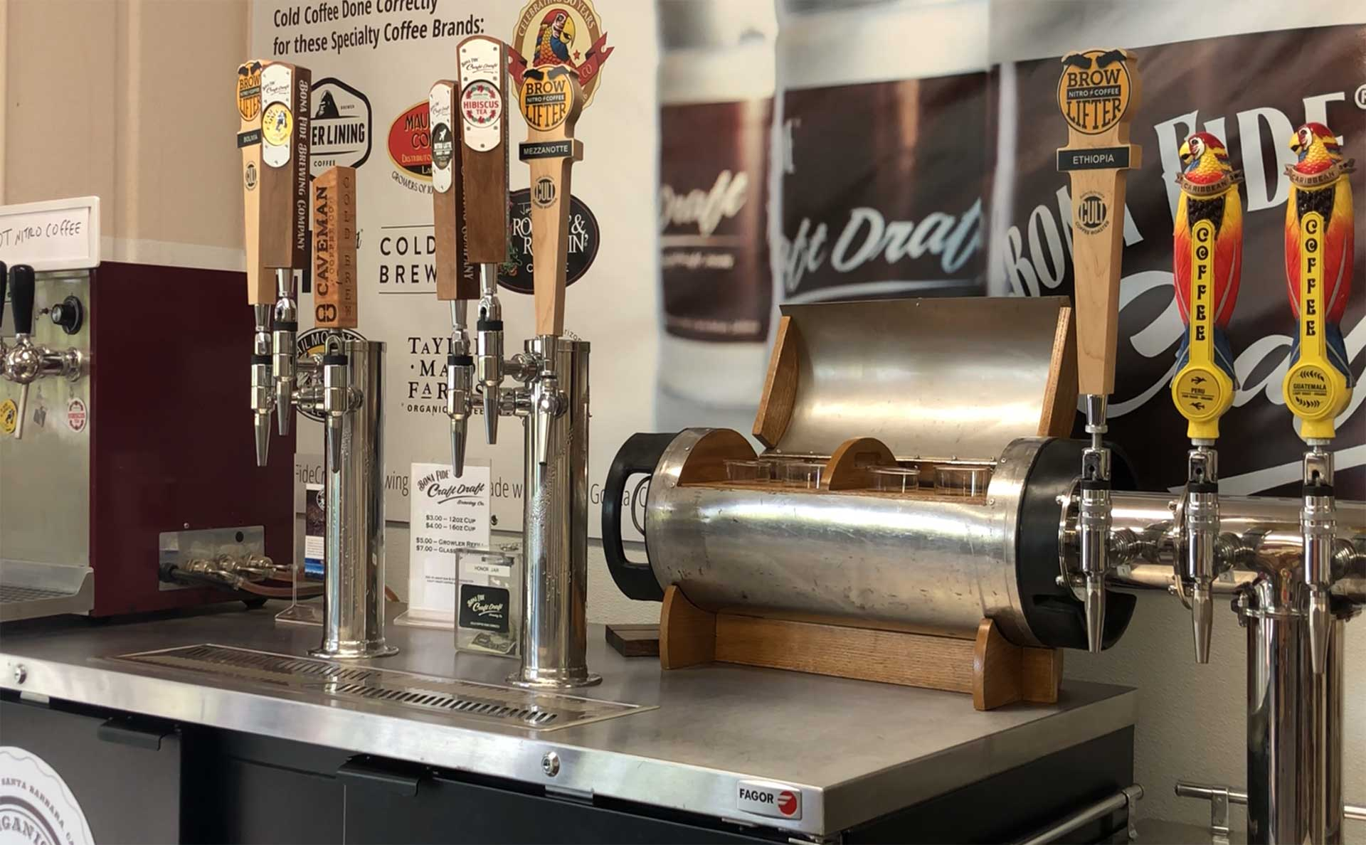 Nitro Cold Brew Bona Fide Brewing Company Nitro Coffee