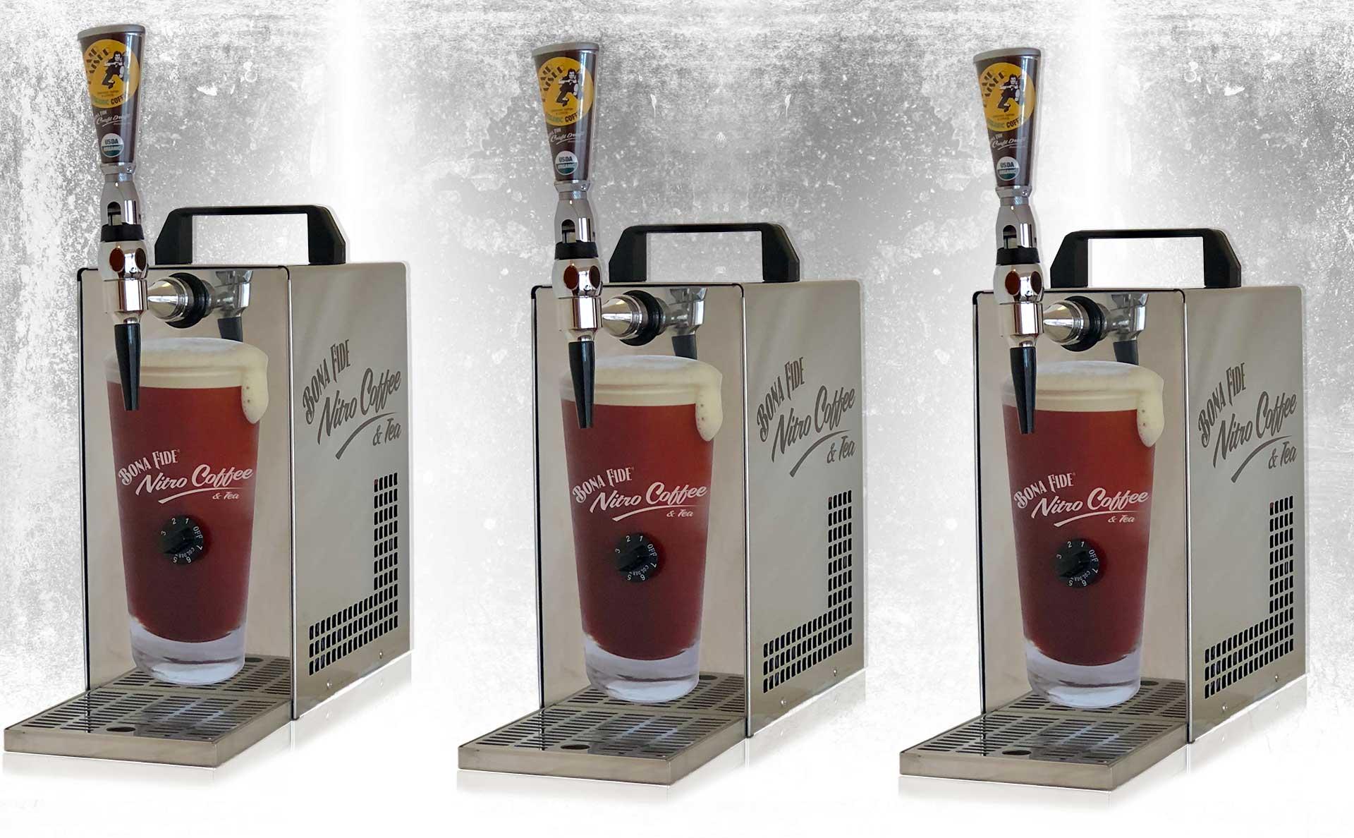 Equipment for nitro coffee Bona Fide