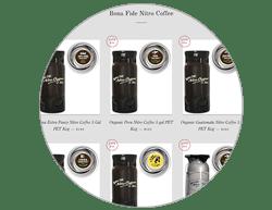 Buy Nitro Coffee and Nitro tea in our Eshop by Bona Fide