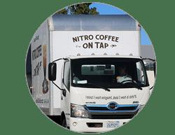 wholesale Coffee distributors Nitro Coffee bona Fide delivering to your office