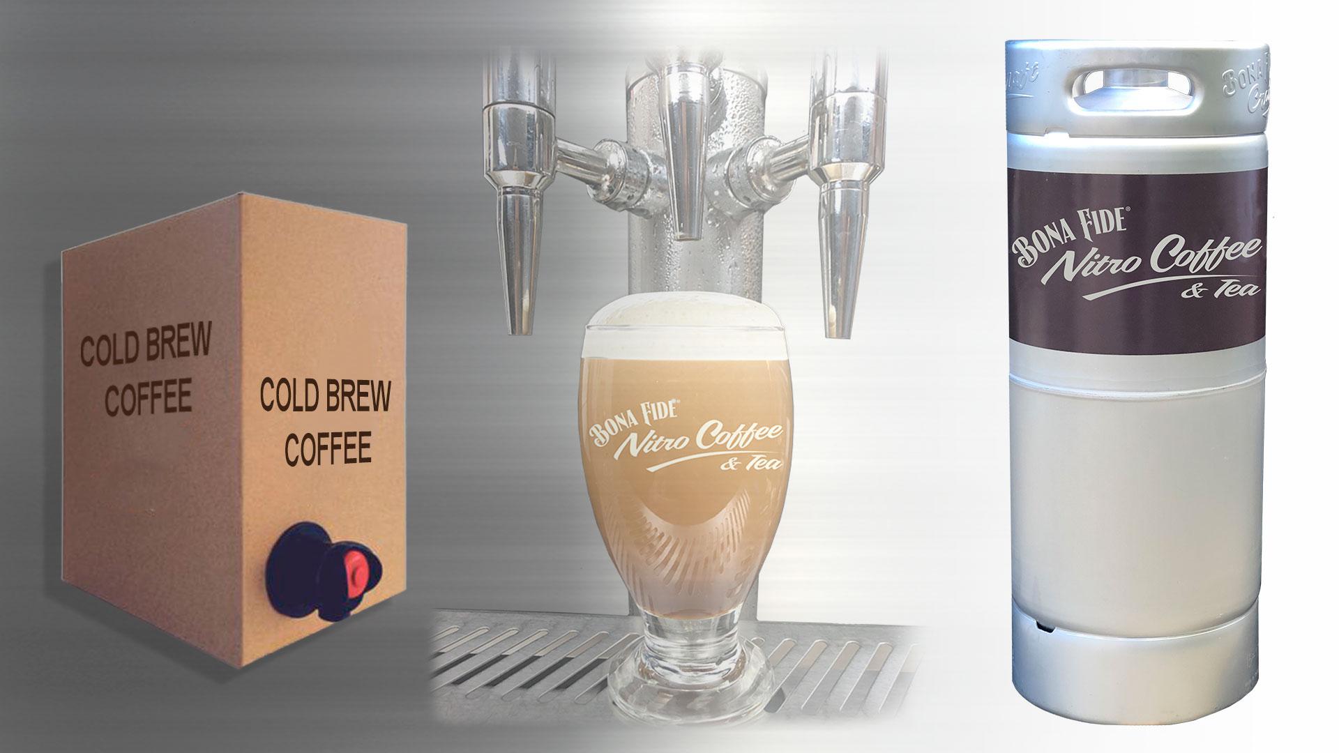 Cold Brew Coffee Concentrate Bag In Box Versus Cold Brew In Kegs Bona Fide Nitro Coffee and Tea