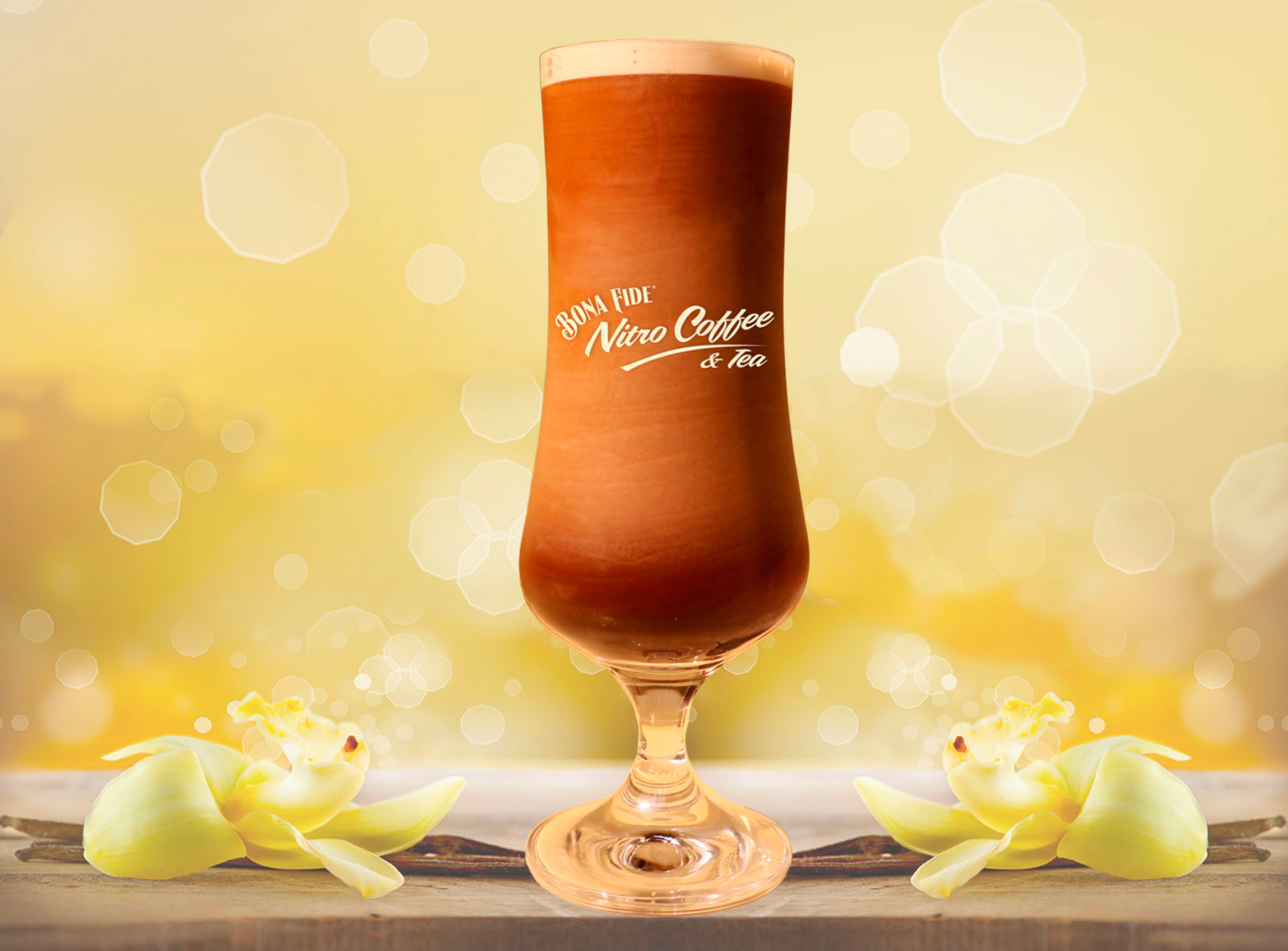 A Touch of Vanilla to Your Nitro Coffee
